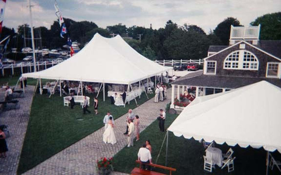 Wedding Reception Tents. Aerial View Cape Cod & Galleries - American Tent u0026 Table