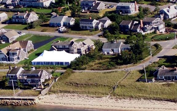 Aerial View Cape Cod ... & Galleries - American Tent u0026 Table