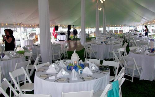 Inside Genesis Tent
