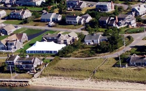 Aerial View Cape Cod
