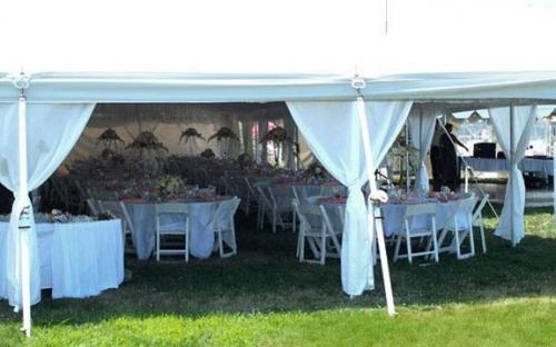 Tent Pole Skirts