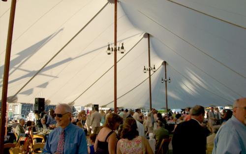 Tidewater Tent Inside